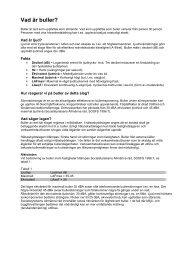 Vad är buller (PDF, nytt fönster)