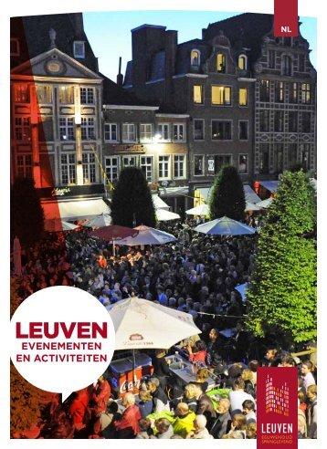 EVENEMENTEN EN ACTIVITEITEN - Stad Leuven