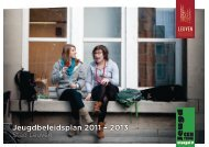 Jeugdbeleidsplan 2011 – 2013 - Stad Leuven