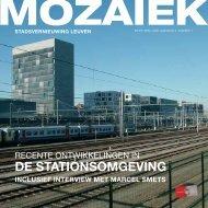 Mozaïek jaargang 5 nr 1 - april 2008 - Stad Leuven