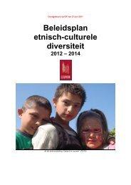Beleidsplan etnisch-culturele diversiteit [ PDF, 1,94 MB] - Stad Leuven