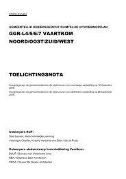 GGRL4-5-6-7 - Vaartkom - toelichtingsnota - Stad Leuven