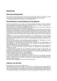 Geschiedenis en beschrijving Sint-Jan-de-Doperkerk