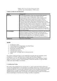 2013-02-06 Verslag deelraad erfgoed [ PDF, 21,7 Kb] - Stad Leuven