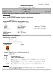 Veiligheidsinformatieblad - LEYCO CHEMISCHE LEYDE GmbH