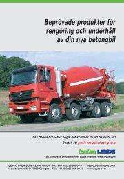 Beprövade produkter för rengöring och underhåll av din nya betongbil