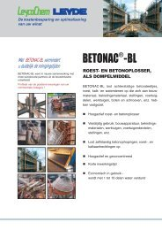 BETONAC -BL - LEYCO CHEMISCHE LEYDE GmbH