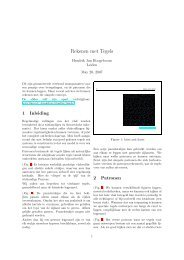 Rekenen met Tegels - Liacs