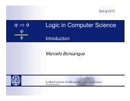 Logic in Computer Science - Liacs