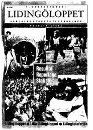 1991 - Lidingöloppet