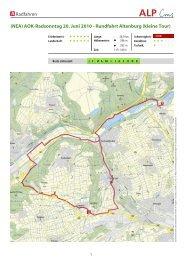 AOK-Radsonntag 20. Juni 2010 - Rundfahrt Altenburg (kleine Tour)