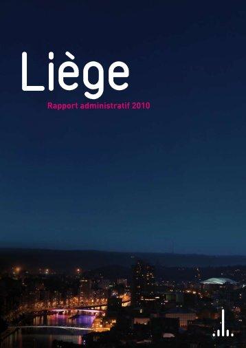 rapport administratif 2010 couverture 1 - copie - Liège