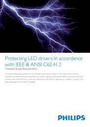 Protecting LED drivers in accordance with IEEE ... - Philips Lighting