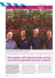 Trostomatentelers positief over eerste ervaringen ... - Philips Lighting
