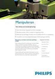 Philips GTDM manipuleren van kleine onderdelen ... - Philips Lighting