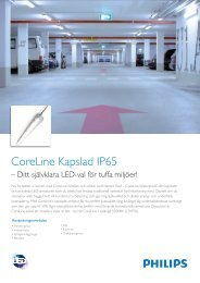 CoreLine Kapslad IP65 - Philips Lighting