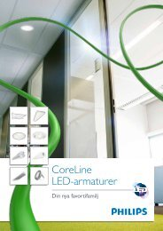 CoreLine LED-armaturer - Philips Lighting
