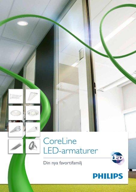 CoreLine LED-armaturer - Philips Lighting