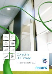 CoreLine LED Luminaires - Philips Lighting