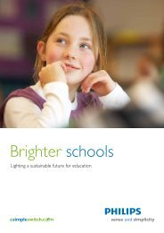 School brochure - Philips Lighting