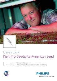 Case study Kieft-Pro-Seeds/PanAmerican Seed (PDF) - Philips