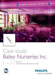 Case study Bailey Nurseries Inc. (PDF) - Philips