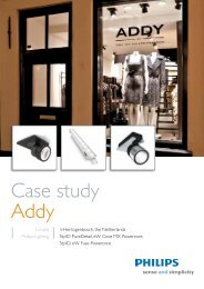 Case study Addy - Philips Lighting