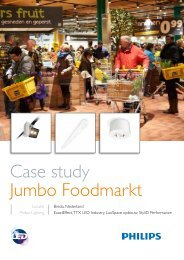 Case study Jumbo Foodmarkt - Philips