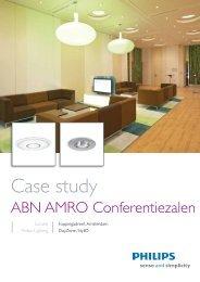 Conferentiezalen ABN AMRO - Philips