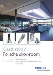 Porsche showroom, Oirschot - Philips