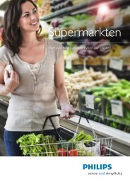 Brochure supermarktverlichting - Philips