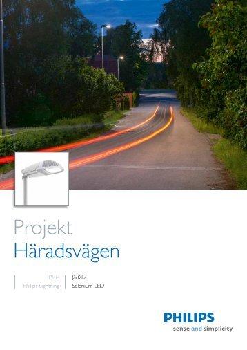 Projekt Häradsvägen - Philips