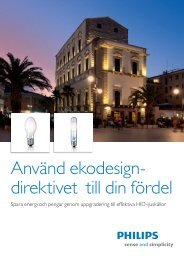 Ekodesigndirektivet - Philips