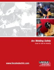E205 Arc Welding Safety | Lincoln Electric