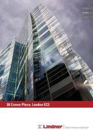 Projekt Report - 30 Crown Place, London EC4 - Lindner Group