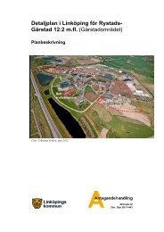 Antagande - planbeskrivning (PDF, 5720 kB) - Linköpings kommun