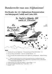 Reader: Bundeswehr raus aus Afghanistan (PDF) - Die Linke.SDS