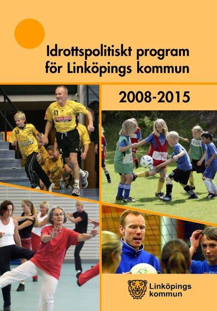 Idrottspolitiskt program - Linköpings kommun