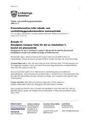 2008-12-17 Inför nämndens sammanträde - Linköpings kommun