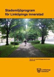 Stadsmiljöprogrammet - Linköpings kommun