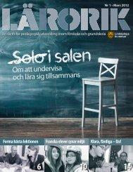 Lärorik nr 1 2012 - Linköpings kommun