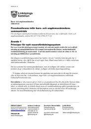 2008-09-02 Inför nämndens sammanträde - Linköpings kommun