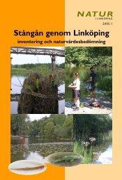 Stångån genom Linköping- inventering och naturvärdesbedömning