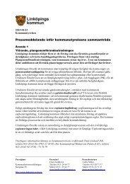 2013-04-23 Pressmeddelande inför sammanträdet - Linköpings ...
