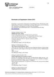Barnteater på Sagateatern hösten 2013 (PDF, 86 kB) - Linköpings ...