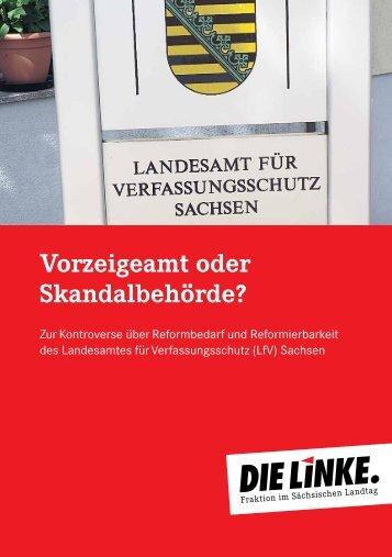 Vorzeigeamt oder Skandalbehörde? - Fraktion DIE LINKE im ...