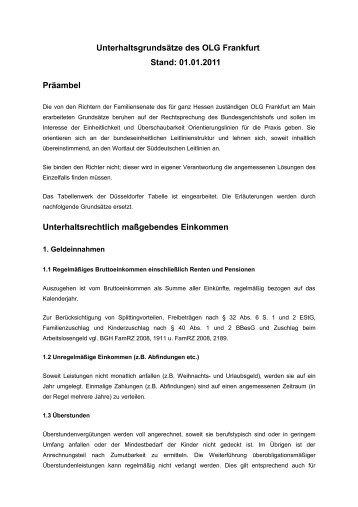 OLG Frankfurt - Famrz