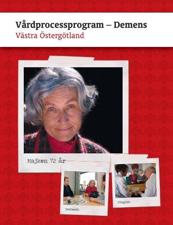Vårdprocessprogram – Demens, Västra Östergötland - Landstinget i ...