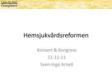 Sven-Inge Arnell - Landstinget i Östergötland