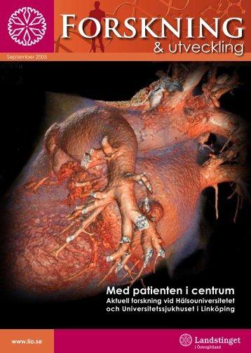 Forskning och utveckling 2005.pdf - Landstinget i Östergötland